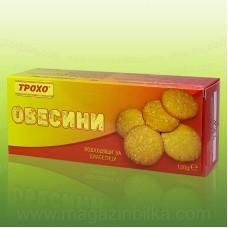 Овесини - бисквити с фруктоза и овесени трици