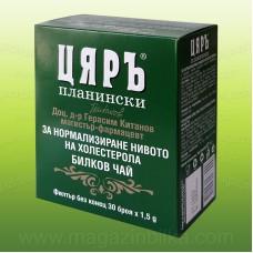 Билков чай за нормализиране на холестерола
