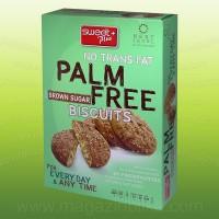 Бисквити без палмова мазнина