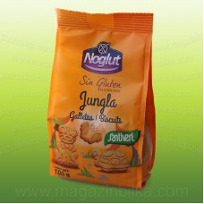 Детски бисквити без глутен Джунгла