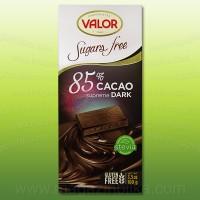 Шоколад тъмен Valor 85%, без захар